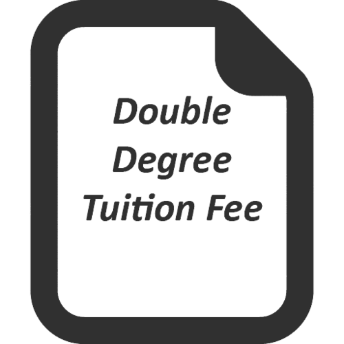 Double Degree Tuition Fee